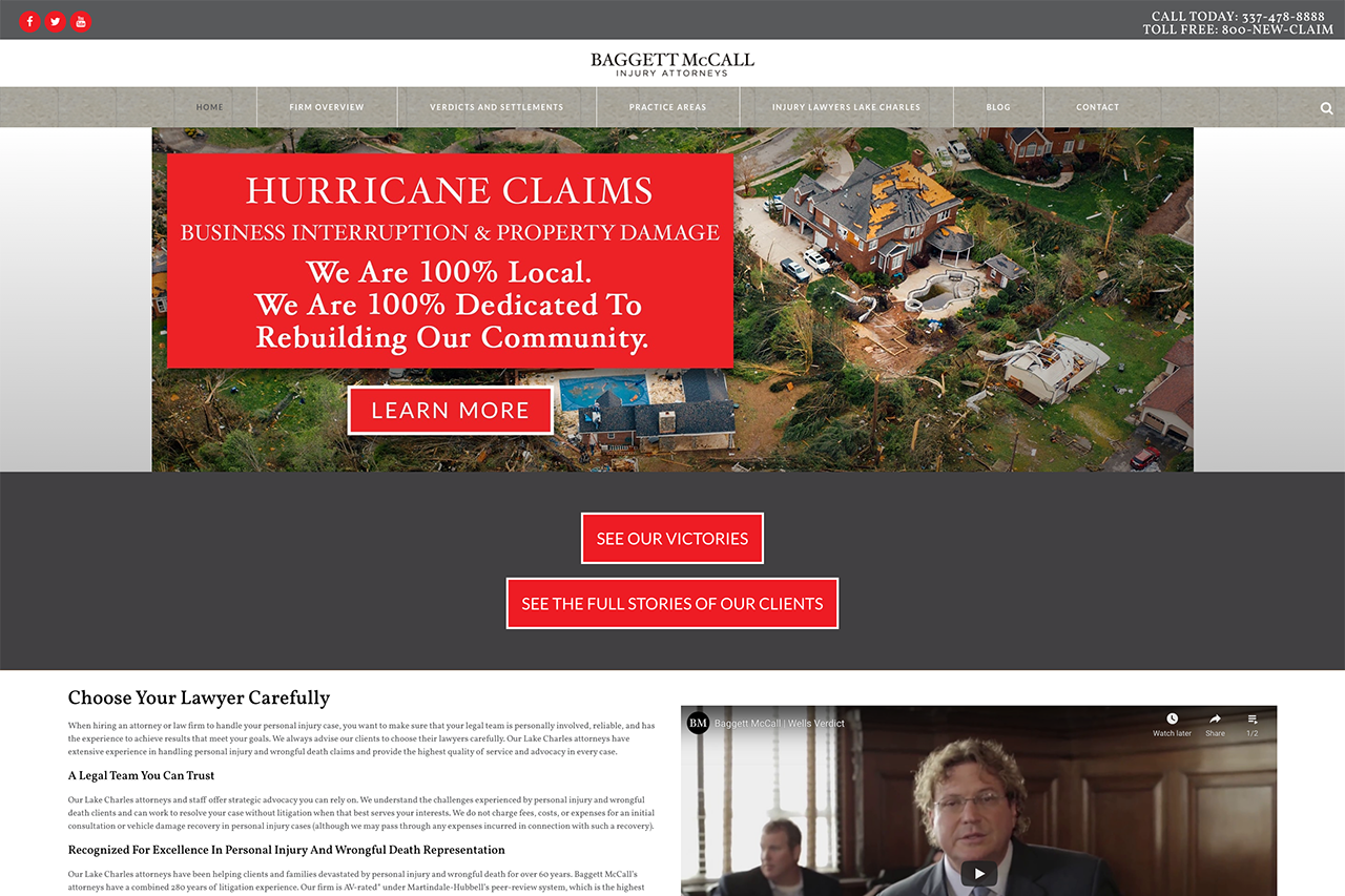 Bagget McCall Injury Attorneys