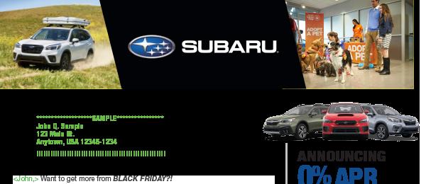 Liberty Subaru Flyer
